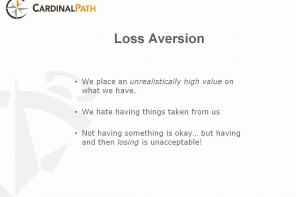 Schaarsheid en loss aversion presentatie